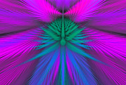 Abstract Designs Posters - Fractal 38 Poster by Sandy Keeton