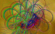 Fractal Designs Prints - Fractal Art 36 Print by Sandy Keeton