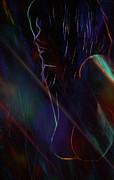Lovers Digital Art - Fractal Girl 2 by Stefan Kuhn