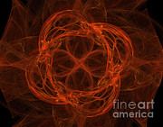 Fractal Geometry Photos - Fractal Image by Ted Kinsman