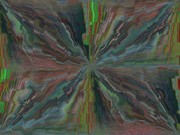 Fractured Frenzy Print by Tim Allen