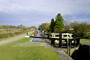 Fradley Middle Lock No. 18 Print by Rod Johnson