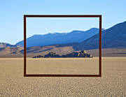 Arid Life Framed Prints - Framed Area of Desert Framed Print by David Buffington