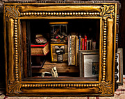 Framed Odds And Ends Print by Christopher Holmes