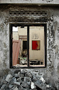 Tabloid Prints - Framing Life After Eruption Print by Rovi Tavare