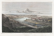 1822 Framed Prints - France: Dieppe, 1822 Framed Print by Granger