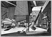 1750 Prints - FRANCE: IRON FORGE, c1750 Print by Granger