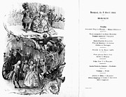 Menu Prints - France: Menu, 1900 Print by Granger