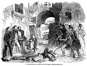 Bayonet Prints - France: Paris Riot, 1851 Print by Granger