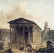 Hubert Prints - FRANCE: ROMAN RUINS, c1760 Print by Granger
