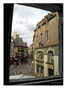 Joan  Minchak - France thru a Window