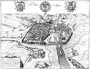 France: Walled City, 1688 Print by Granger