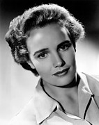 Hurrell Photo Framed Prints - Frances Farmer, Ca. 1940 Framed Print by Everett