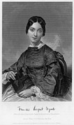 Alonzo Posters - FRANCES SARGENT OSGOOD (1811-1850). American poet. Engraving from a painting by Alonzo Chappel, c1873 Poster by Granger