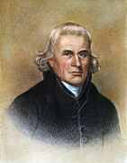 Methodist Prints - Francis Asbury (1745-1816) Print by Granger