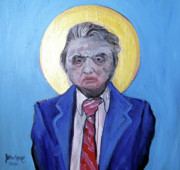 Francis Painting Posters - Francis Bacon - Icon Of The Twentieth Century Poster by Ray Johnstone