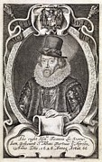 Francis Prints - Francis Bacon, English Philosopher Print by Middle Temple Library