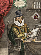 Francis Prints - Francis Bacon, English Polymath Print by Photo Researchers