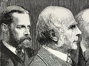 Francis Prints - Francis Darwin And Francis Galton Print by Paul D Stewart