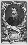 Francis Prints - Francis Drake, English Explorer Print by Middle Temple Library