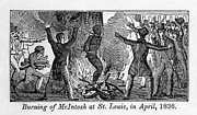 Executions Prints - Francis L. Mcintosh, A Free Mulatto Print by Everett