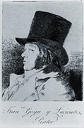 Printmaking Prints - Francisco Goya 1746-1828, Self Portrait Print by Everett