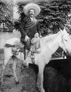 Mounted Photos - Francisco Pancho Villa by Granger