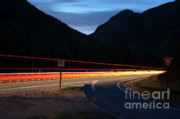 Scenic Drive Framed Prints - Franconia Notch Parkway - Franconia New Hampshire USA Framed Print by Erin Paul Donovan