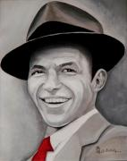 Rat Pack Art - Frank  by Al  Molina