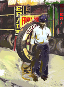 Black History Mixed Media - Frank by Charles Shoup