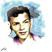 Hollywood Legend Prints - Frank Sinatra Print by Arne Hansen