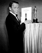 Host Prints - Frank Sinatra As Host Of The 35th Print by Everett
