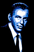 Newyork Digital Art Metal Prints - Frank Sinatra Metal Print by DB Artist