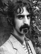 Musician Photo Framed Prints - Frank Zappa 1970 Framed Print by Chris Walter