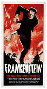 Boris Framed Prints - Frankenstein, Boris Karloff, 1931 Framed Print by Everett