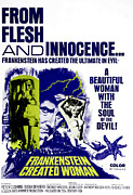 Cushing Posters - Frankenstein Created Woman, Peter Poster by Everett