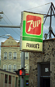 Traffic Prints - Frankies Tavern - Binghamton New York Print by Frank Romeo