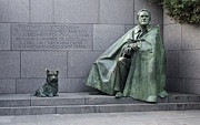 Franklin Delano Roosevelt Prints - Franklin Delano Roosevelt Memorial - Washington DC Print by Brendan Reals