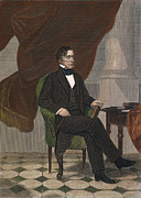 19th Century America Prints - Franklin Pierce (1804-1969) Print by Granger