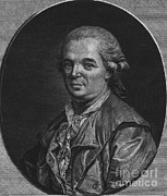 Historical Physician Framed Prints - Franz Mesmer, German Physician Framed Print by Science Source