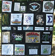 Custom Tapestries - Textiles - Fraternity Quilt by Roberta Martin