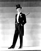 White Tie Prints - Fred Astaire, 1930s Print by Everett