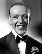 Black Tie Framed Prints - Fred Astaire, 1935 Framed Print by Everett