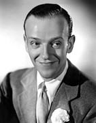 Astaire Framed Prints - Fred Astaire, 1936 Framed Print by Everett