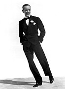 Astaire Framed Prints - Fred Astaire, 1940 Framed Print by Everett