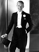 Astaire Framed Prints - Fred Astaire At The Time Of Follow The Framed Print by Everett