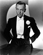 White Tie Prints - Fred Astaire At The Time Of Roberta Print by Everett