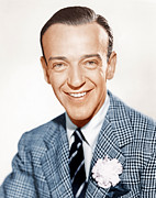 Lapel Photo Posters - Fred Astaire, Ca. 1941 Poster by Everett