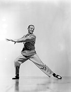 Astaire Framed Prints - Fred Astaire Framed Print by Everett