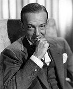 Astaire Framed Prints - Fred Astaire In The 1940s Framed Print by Everett
